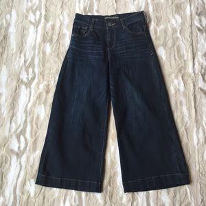 Express Wide Leg Cropped Jean!